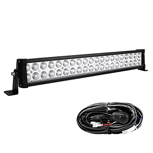 led light bar yitamotor 24 inch light bar offroad spot flood combo led bar waterproof dual row